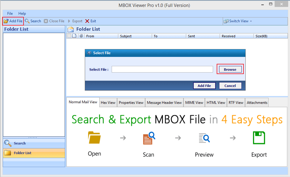 Free MBOX Viewer Tool & Service to Open, Read MBOX Files