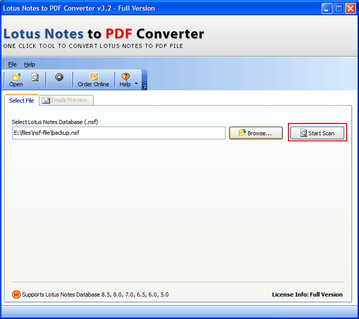 NSF to PDF Converter Software & Services to Export Lotus Notes